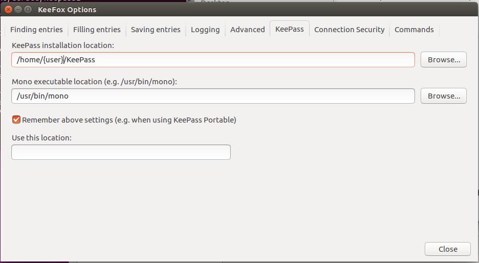 Installing KeePass and KeeFox on Ubuntu 16 04   Loch Technology